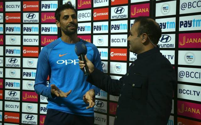 Ashish Nehra and Virender Sehwag