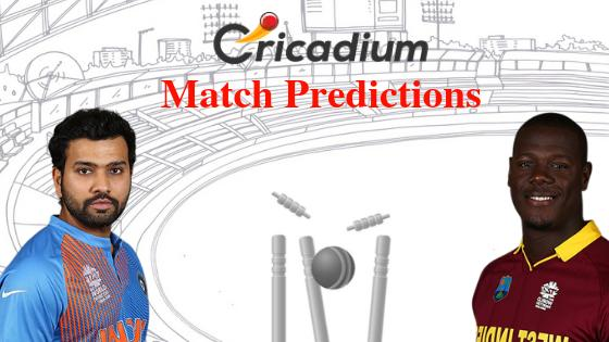 India vs Windies 3rd T20I Match Prediction