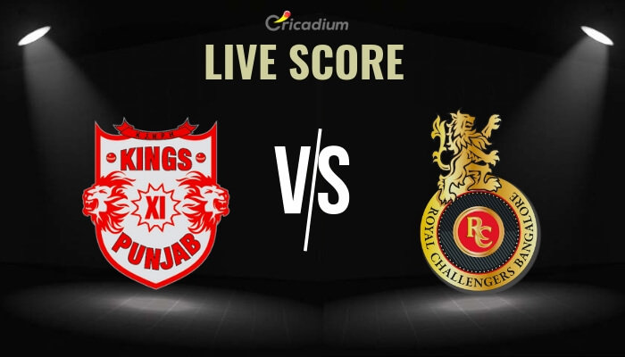KXIP vs RCB Live Score: Today IPL Match 2019 Live Cricket Score