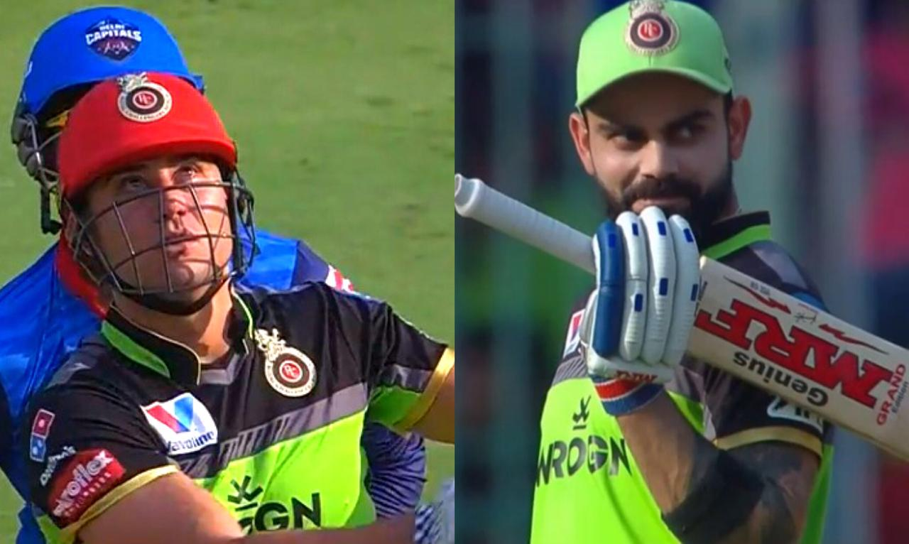 Watch: Virat Kohli's reaction to this mammoth six by Stoinis is Priceless