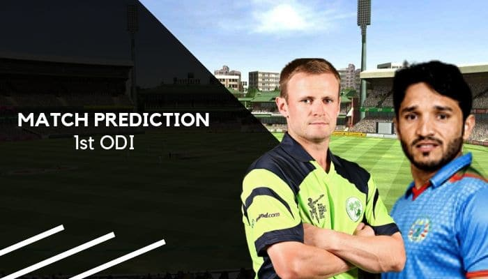 IRE vs AFG Match Prediction 1st ODI, Who Will Win Ireland vs Afghanistan