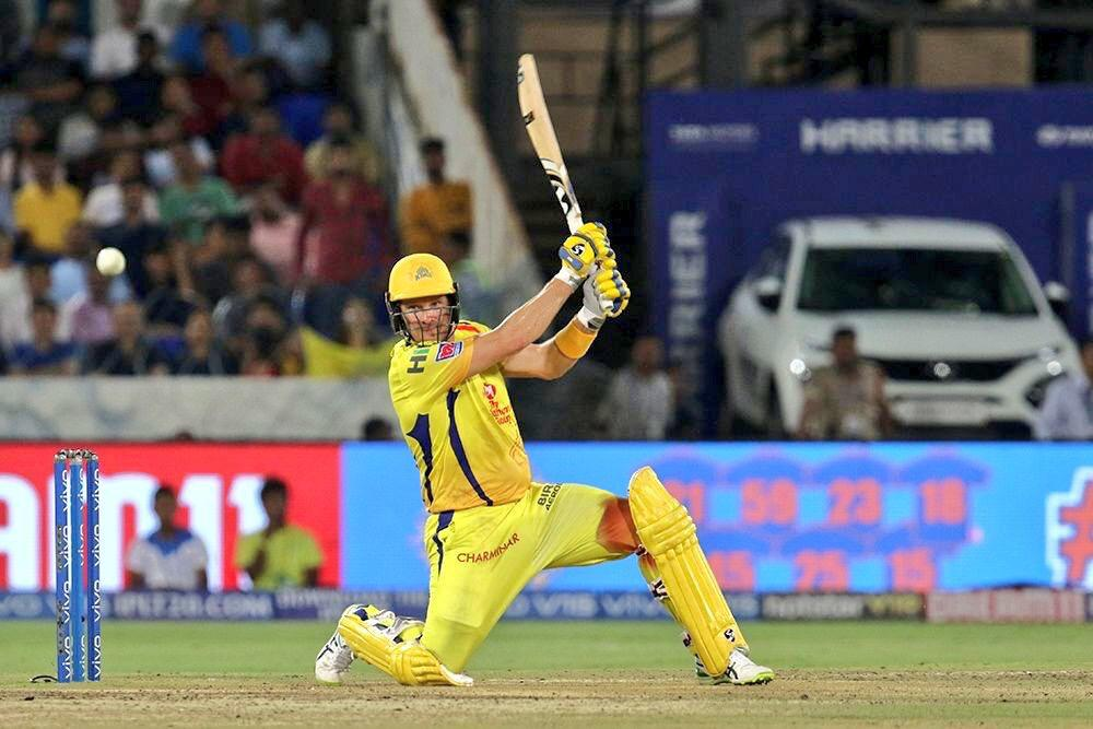 Shane Watson Batted in the IPL 2019 Final With a Bloodied Knee