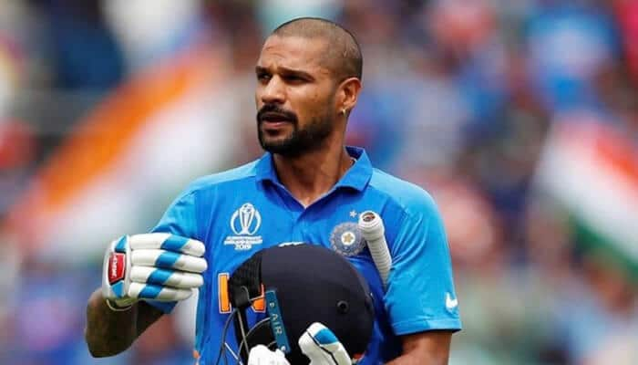 Shikhar Dhawan Ruled Out of the World Cup for Three weeks