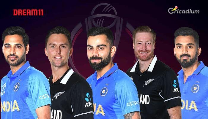 IND vs NZ Dream 11 team Today Match 18 World Cup 2019: India vs New Zealand Dream 11 Tips