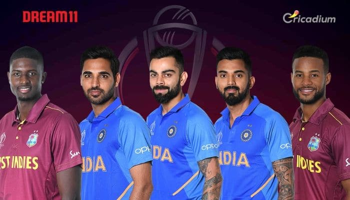 WI vs IND Dream 11 team Today Match 34 World Cup 2019: West Indies