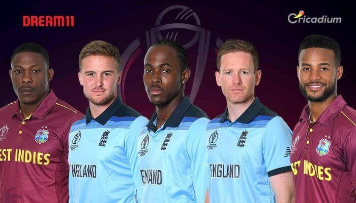ENG vs WI Dream 11 team Today Match 19 World Cup 2019: England vs West Indies Dream 11 Tips