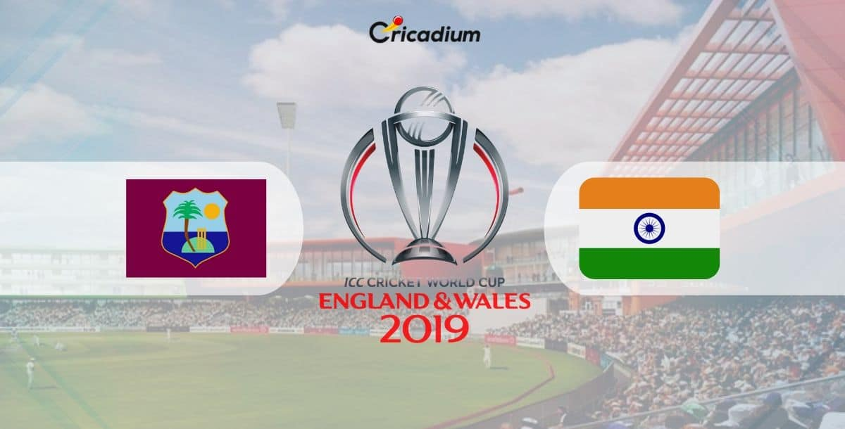 World Cup 2019 Match 34 WI vs IND Live Score: West Indies vs India