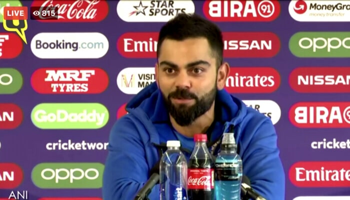 We are very grateful for what he's done for all of us- Kohli on Dhoni