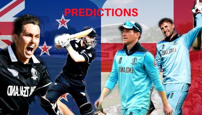ICC World Cup 2019 Final New Zealand vs England Match Prediction Who Will Win Today