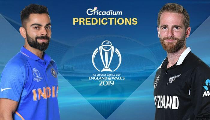 ICC World Cup 2019 Semi-Final 1 India vs New Zealand Match Prediction Who Will Win Today