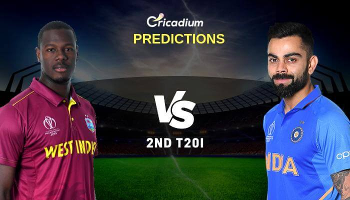 India tour of West Indies, 2019 2nd T20I WI vs IND Match