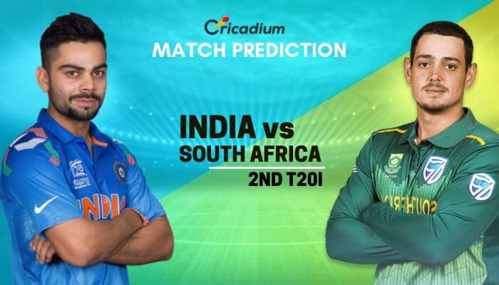 South Africa tour of India, 2019 2nd T20I IND vs SA Match Prediction Who Will Win