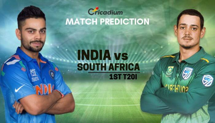 South Africa tour of India 2019 1st T20I IND vs SA Match Prediction Who Will Win today