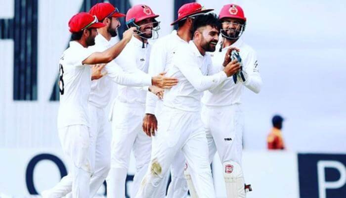 Rashid Khan became the youngest captain to win a Test match