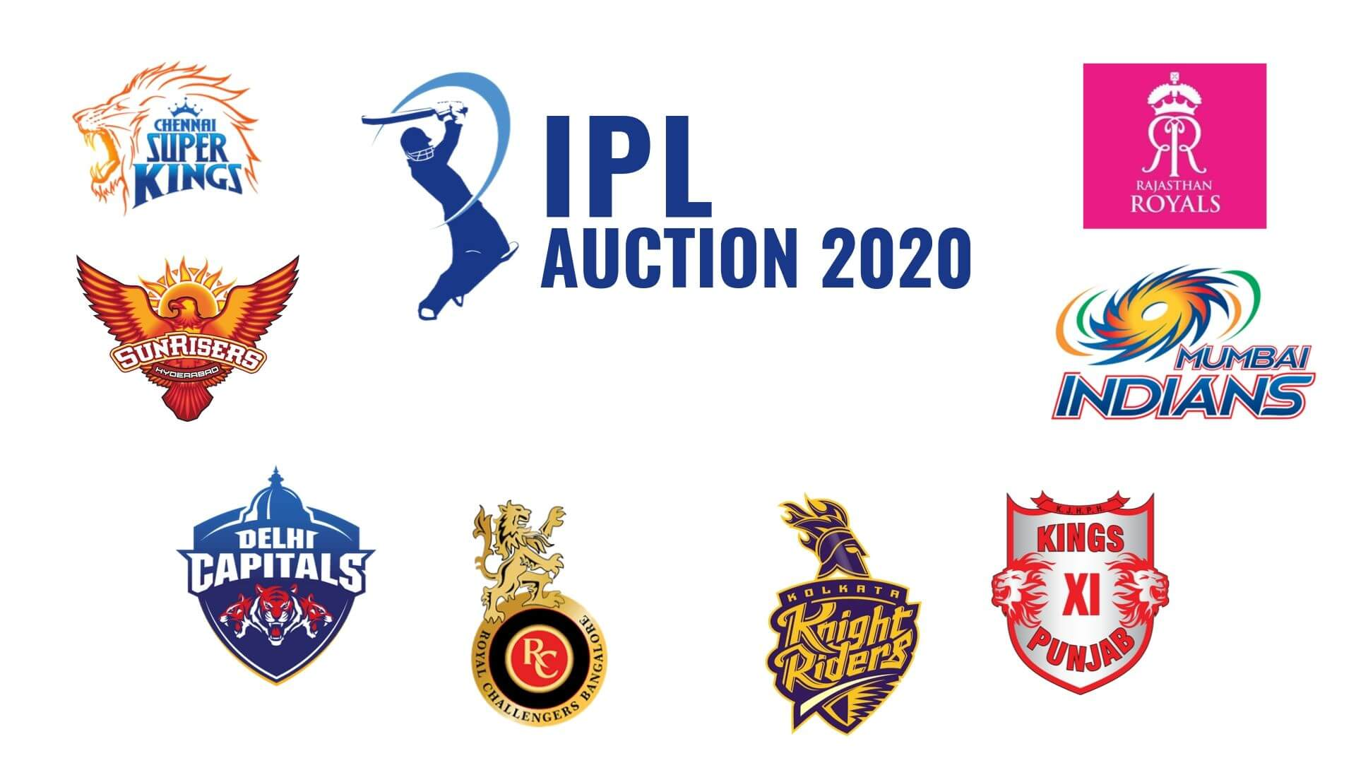 IPL 2020 Auction to be held in Kolkata on 19th December