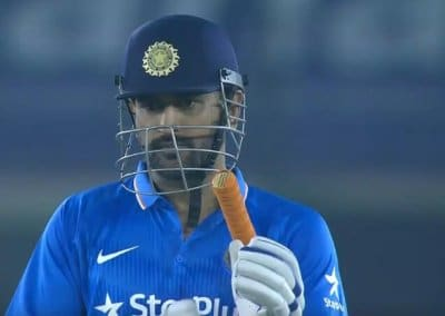 Dhoni was informed about contract omission by BCCI