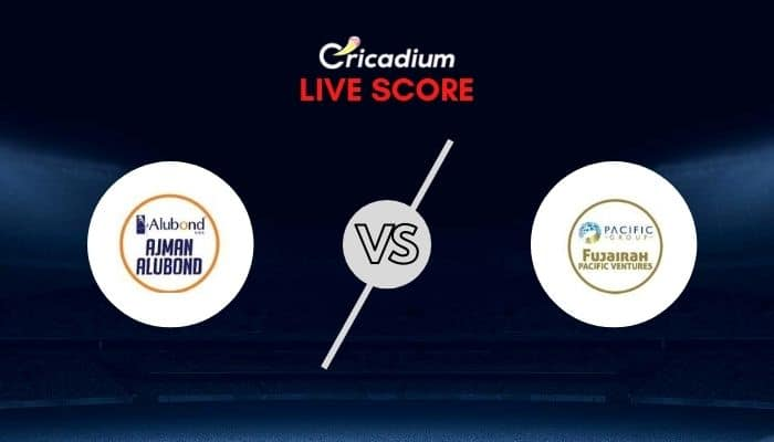 Emirates D10 League 2020 Live Cricket Score: AAD vs FPV Match 21 Live Score Ball By Ball