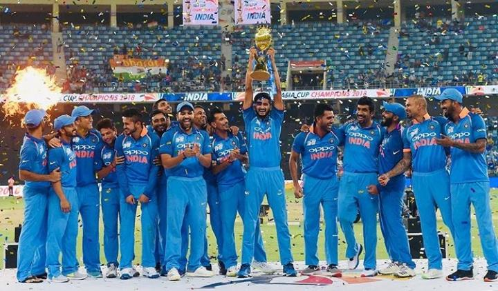 Indian National Cricket Team, Asia Cup 2018 Winner
