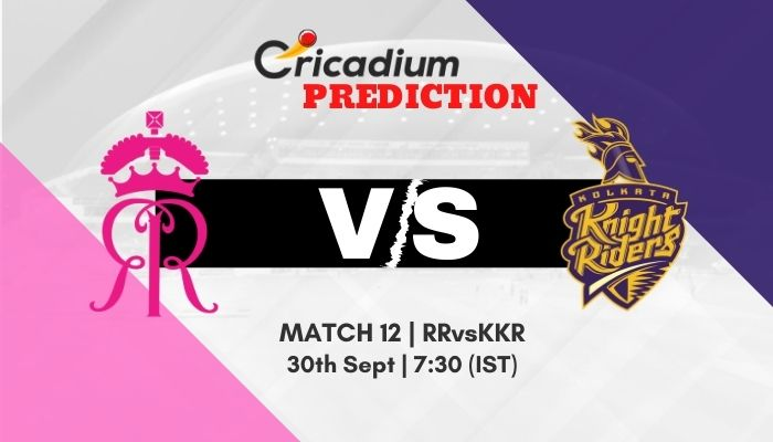 Who will win today IPL 2020 Rajasthan Royals vs Kolkata Knight Riders today Match Prediction. Today match prediction 100% sure, IPL 2020 Match 12 RR vs KKR Match Prediction today.