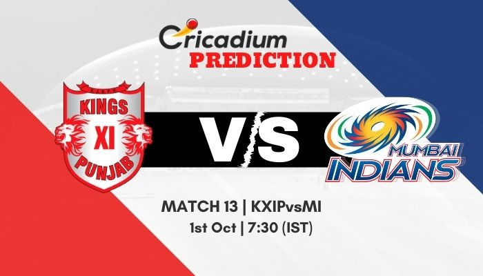 IPL 2020 Match 13 KXIP vs MI Match Prediction Who Will Win Today