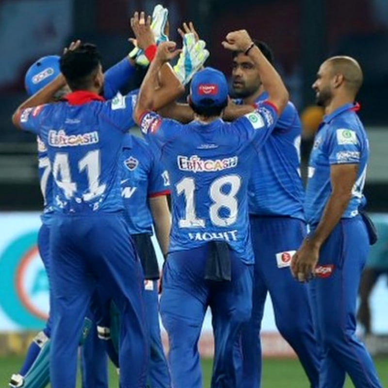 Delhi Capitals are at the 2nd position in the points table with 14 points