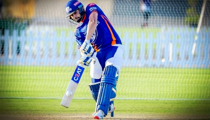 Rohit Sharma seen in Nets with MI just after being Excluded from Australia Tour due to Injury