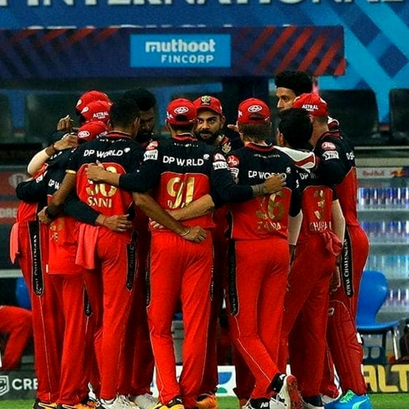 Royal Challengers Bangalore are at the 2nd position with 14 points.