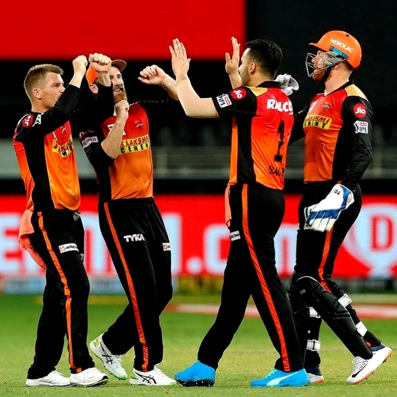 Sunrisers Hyderabad are at the 7th position with 8 points.