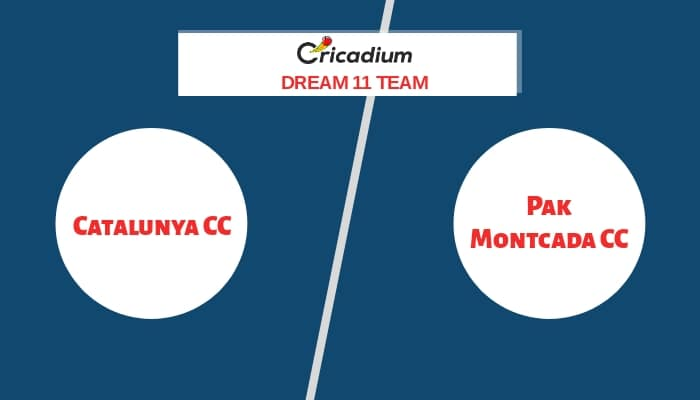 ECS Barcelona T10 2020 Match 30 CTL vs PMCC Dream11 team Today