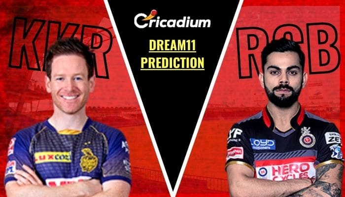 KKR vs RCB IPL Dream11 Team Prediction: Kolkata Knight Riders vs Royal Challengers Bangalore Dream 11 Fantasy Cricket Tips for Today's IPL 2020 Match 39 Oct 21th
