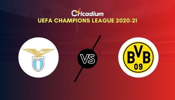 UEFA Champions League 2020-21 Matchday 1 Group F Lazio vs Borussia Dortmund Prediction