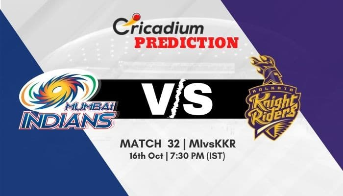 IPL 2020 Match 32 MI vs KKR Match Prediction Who Will Win Today