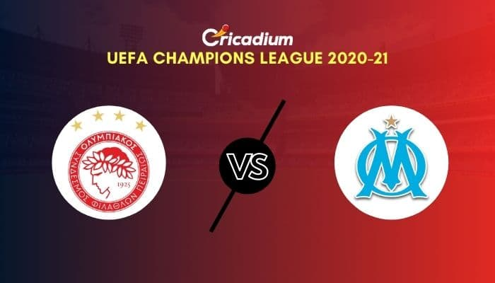 UEFA Champions League 2020-21 Matchday 1 Group C Olympiacos vs Marseille Prediction