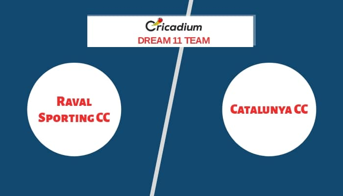 ECS Barcelona T10 2020 Match 29 RSCC vs CTL Dream11 team Today