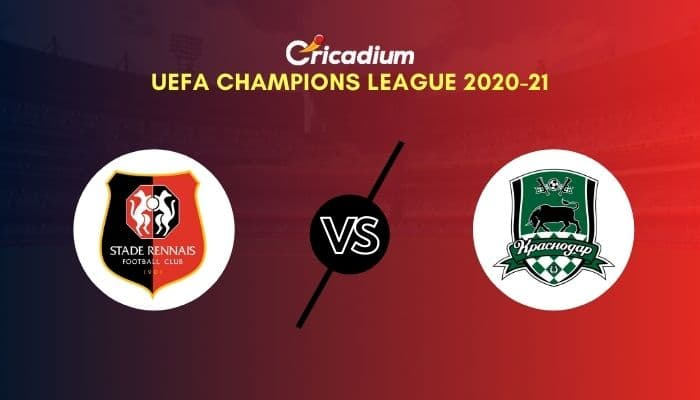 UEFA Champions League 2020-21 Matchday 1 Group E Rennes vs Krasnodar Prediction