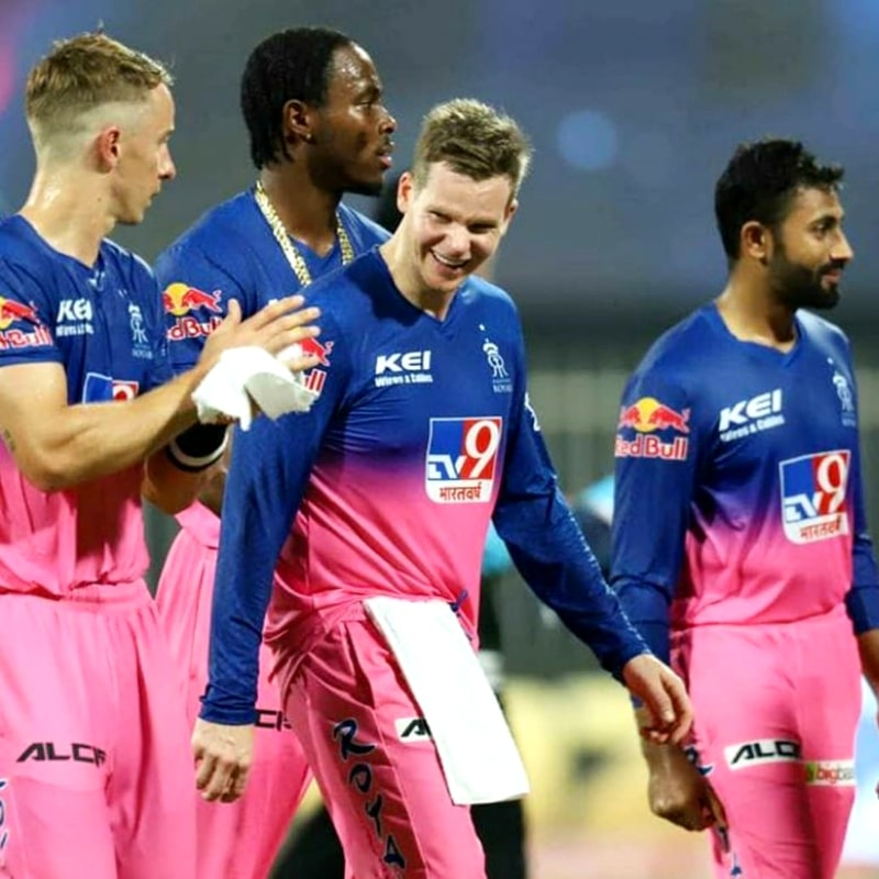 Rajasthan Royals are at the 7th position in the points table with 10 points