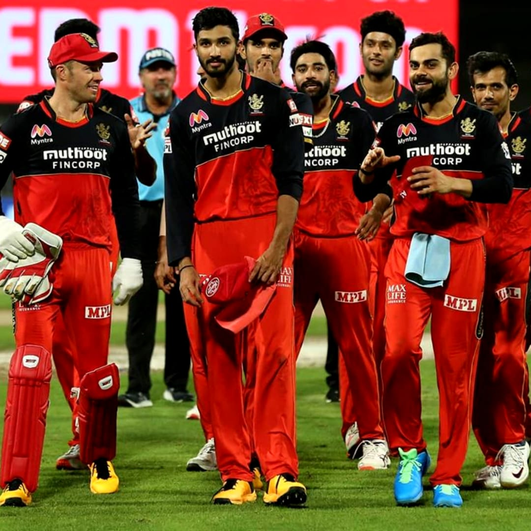 Royal Challengers Bangalore are at the 2nd position in the points table with 14 points