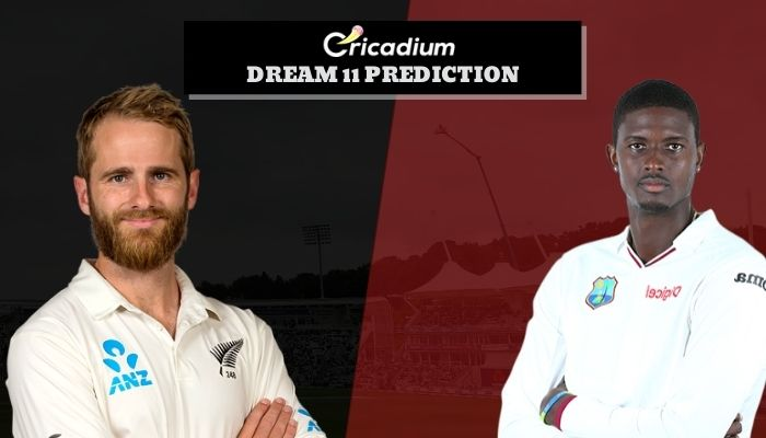 West Indies tour of New Zealand, 2020 1st Test NZ vs WI Dream11 Team Today