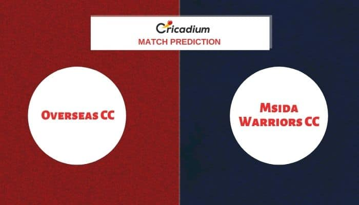 European Cricket Series Malta 2020 Match 23 OVR vs MSW Match Prediction Who Will Win Today