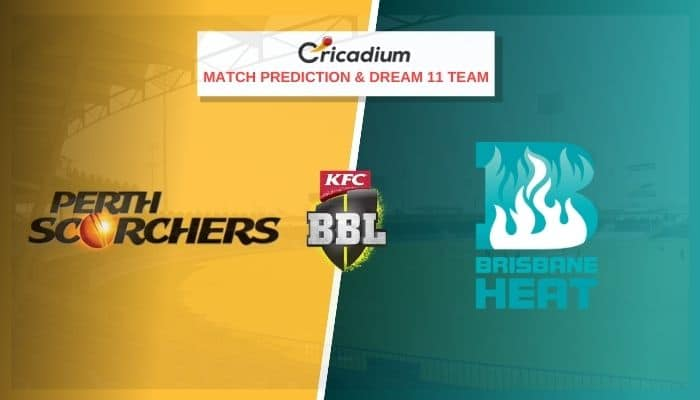 Big Bash League 2020-21 Match 44 PRS vs BHR Prediction and Dream11 Team Today