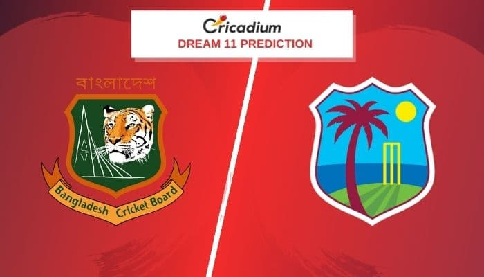 West Indies Tour of Bangladesh 2020-21 2nd Test BAN vs WI Dream11 Team Today