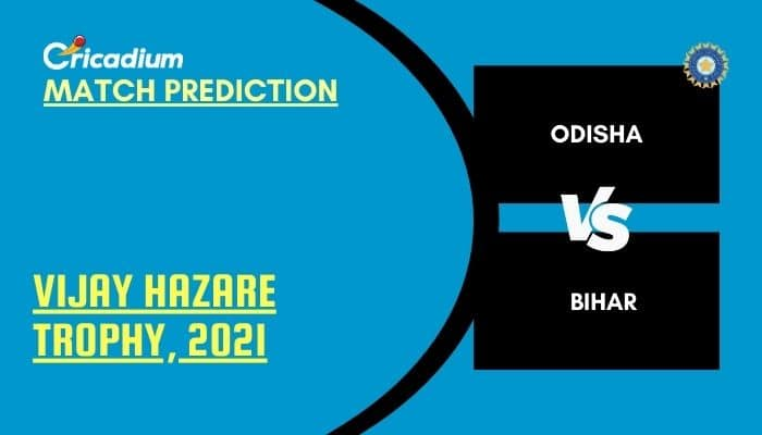 Vijay Hazare Trophy 2021 Match 64 ODS vs BIH Match Prediction Who Will Win Today %%page%%