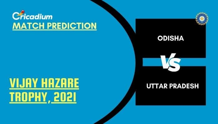 Vijay Hazare Trophy 2021 Match 85 ODS vs UP Match Prediction Who Will Win Today %%page%%