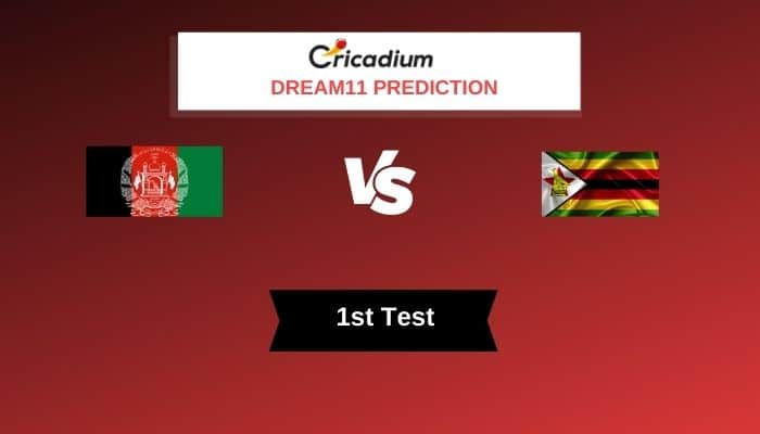Zimbabwe Tour of Afghanistan 2020-21 1st Test AFG vs ZIM Dream11 Team Today%%page%%