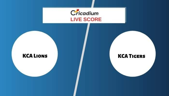 KCA Presidents Cup T20, 2021 Live Score: LIO vs TIG Match 1 Live Cricket Score Ball by Ball Commentary, Scorecard & Results