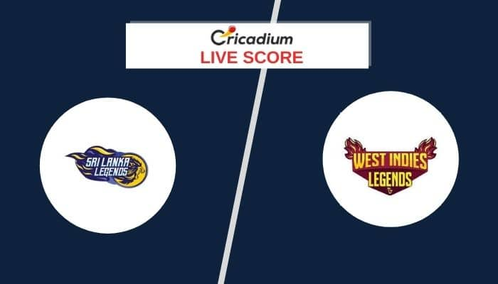 Road Safety T20 World Series, 2020/21 Live Score: SLL vs WILMatch 6 Live Cricket Score Ball by Ball Commentary, Scorecard & Results