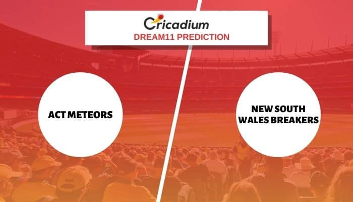 AM-W vs NSW-W Dream11 Team: Women's National Cricket League 2021 Match 17 ACT Meteors vs New South Wales Breakers Dream11 %%page%%