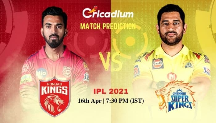 PBKS vs CSK Match Prediction Who Will Win Today IPL 2021 Match 8