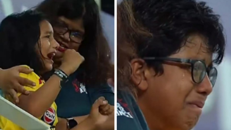 Look What Dhoni Did Seeing His Little Fans in Tears of Joy